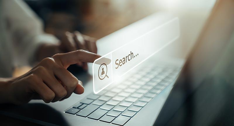 mots clés sur moteur de recherche
